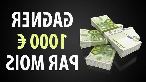 Quelle profession rapporte 5 000 euros par mois?